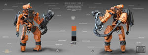 robot by handfighter