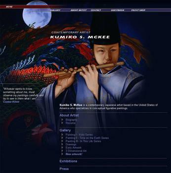 Website - Kumiko S. McKee by Kumiko-McKee