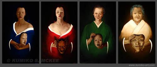 Japanese Women by Kumiko-McKee