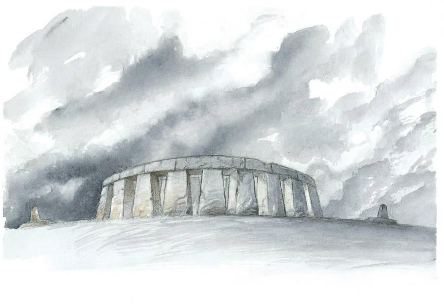 Stonehenge by krukof2