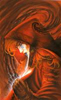 Red Sorceress by krukof2