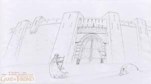 GAME Of THRONES - Oustide the City walls - Qarth by krukof2