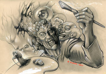 The Many Faces by krukof2