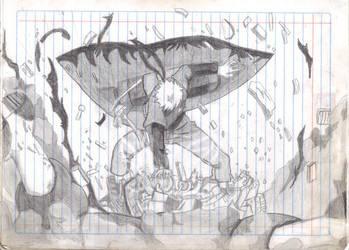 Naruto Vs. Pain by yadergomez98