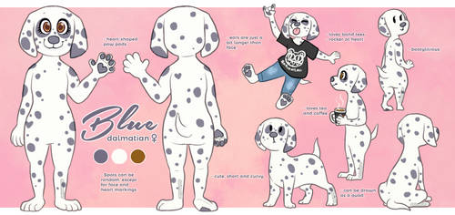 Blue Reference Sheet 2017 by dalmatier