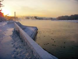 river is steaming by MissLumikki