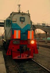 locomotive by MissLumikki