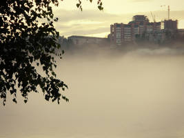 Fog Over The River by MissLumikki