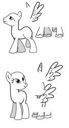 MLP OC Bases by TheShadowStone
