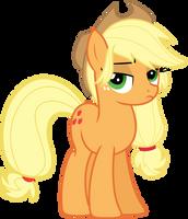 Applejack ain't too pleased, sugarcube. by TheShadowStone