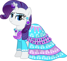 Rarity's Dress to Impress by TheShadowStone