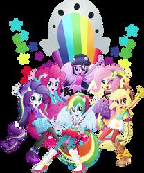 And We Shine Like Rainbows by TheShadowStone