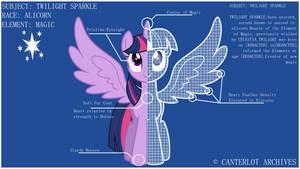 Twilight Sparkle: Blueprints by TheShadowStone
