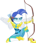 Friendship Games: Female Canterlot Guard Archer by TheShadowStone