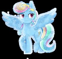 Crystal Rainbow Dash by TheShadowStone