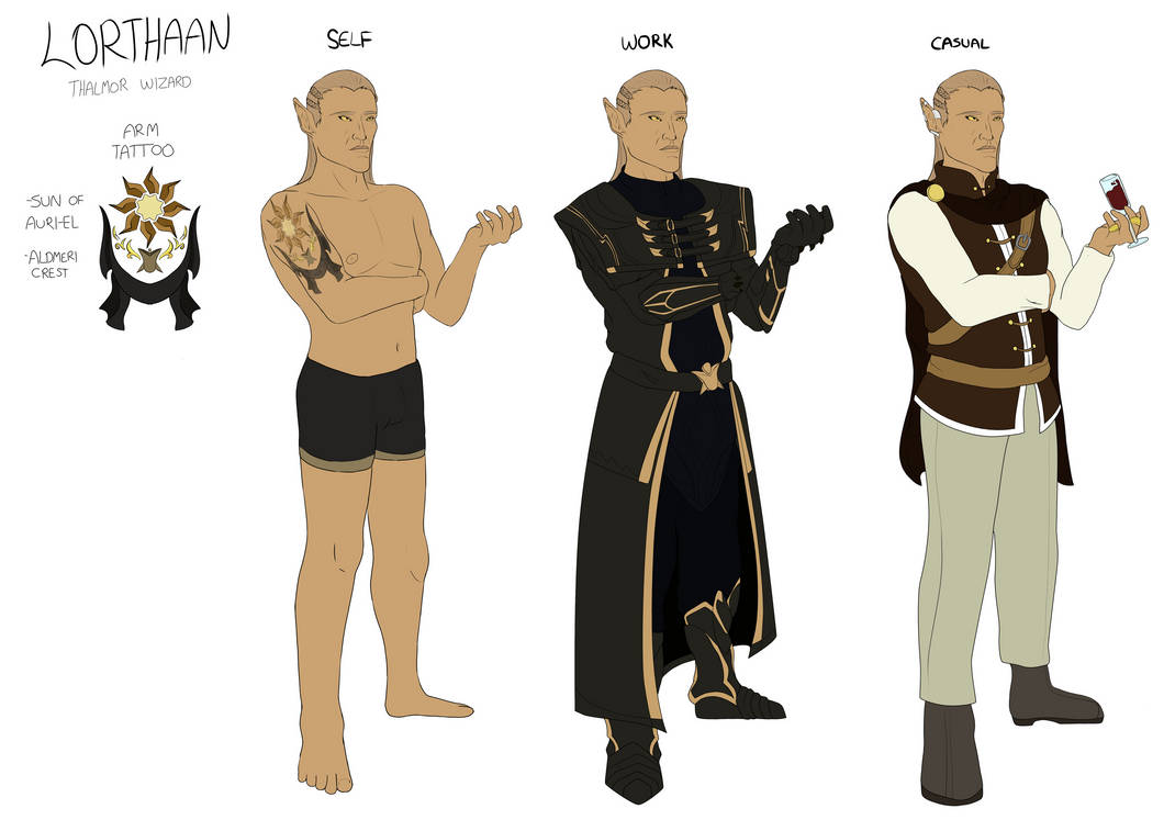 Lorthaan Reference Sheet by TheShadowStone