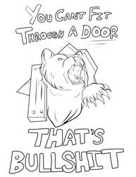 You can't fit through a door! by TheShadowStone