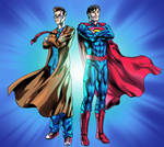 The Doctor and The Superman by MatiasSoto