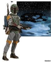 Star Wars - Boba Fett by Galeart