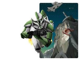 Jet Trooper by Galeart