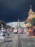 Cloudy Skies In Walt Disney World by HavingHope5