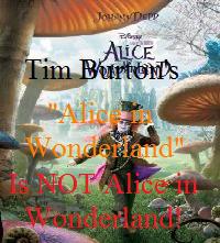 Not Alice In Wonderland Stamp by PurpleRainShowers