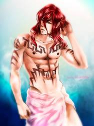 Renji. After shower by HaloBlaBla