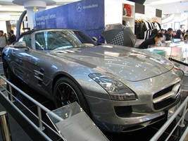 Mercedes SLS AMG front 1 by Tal2008