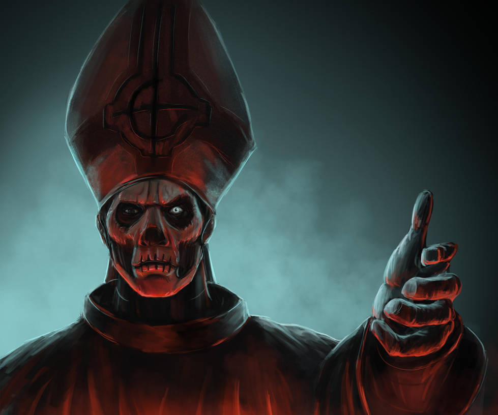 Papa Emeritus II by BABAGANOOSH99