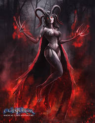 Demon Witch by BABAGANOOSH99