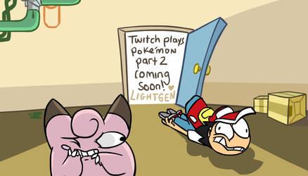 Twitch plays pokemon 2 part 2 WIP pic by naysu