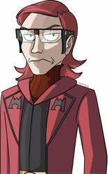 Team Magma Leader Maxie by naysu