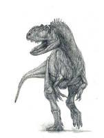 Yangchuanosaurus shangyouensis by yty2000