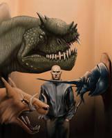 Monster Hunter by yty2000