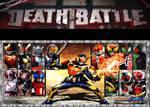 Death Battle Idea All Heisei Riders Battle royal by codeuphero01