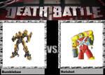 Death Battle Idea Bumblebee Vs Hotshot by codeuphero01
