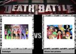 death battle idea Gokaiger vs Straw hat pirate by codeuphero01