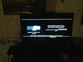 my tv set up by codeuphero01