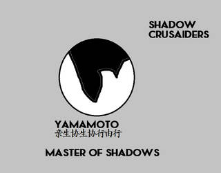 Shadow Crusaiders Yamamoto Ensignia by codeuphero01