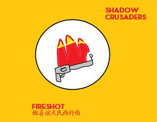 Shadow Crusaders Fireshot Ensignia by codeuphero01