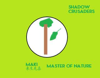 Shadow Crusaders Maki Ensignia by codeuphero01