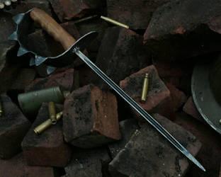ww1 trench knife by Stefan-bouwhuis