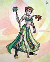 Sorceress by meisarn