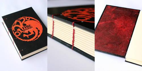 Game of Thrones Journal - Targaryen by GatzBcn