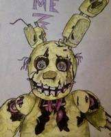 My second Springtrap drawing by SpringVera
