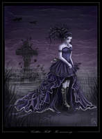 Gothic Fall: In memory by QuantumSuz