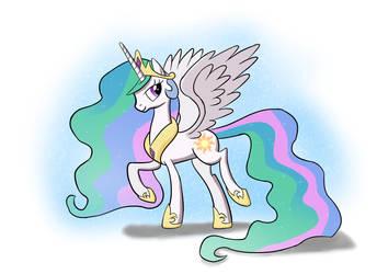 Princess Celestia by Tech--Pony