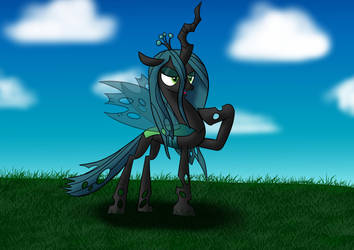 Queen Chrysalis by Tech--Pony