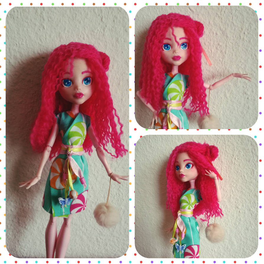 My little pony - Pinkie Pie Customdoll by MimicProductions