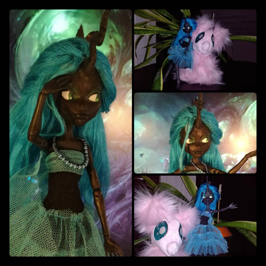 My little pony - Chrysalis Customdoll by MimicProductions